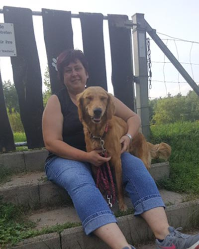 Sieglinde trainierte auf die Prüfung mit ihrem Hund im Rettungsdienst und meint zum Mentaltraining